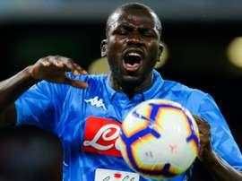 Sarri veut retrouver Koulibaly à la Juventus. AFP