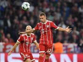 Kimmich, o melhor alemão em 2017. AFP