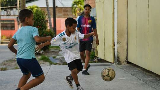 Football has overtaken Baseball as Cuba's most favourite past time. AFP