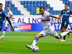 Sampdoria won 3-1. AFP