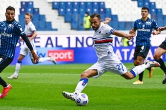 Le formazioni ufficiali di Sampdoria-Bologna. AFP