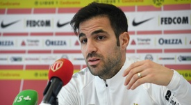Cesc Fabregas moved to Monaco earlier this month to team up with his old colleague Henry. AFP