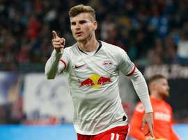 Timo Werner has signed for Chelsea. AFP