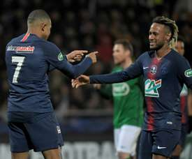 PSG to host Grenoble or Strasbourg in French Cup last 32.
