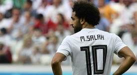 Salah struggled at the World Cup in Russia. APF