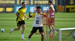 Sancho resterà al Dortmund. AFP