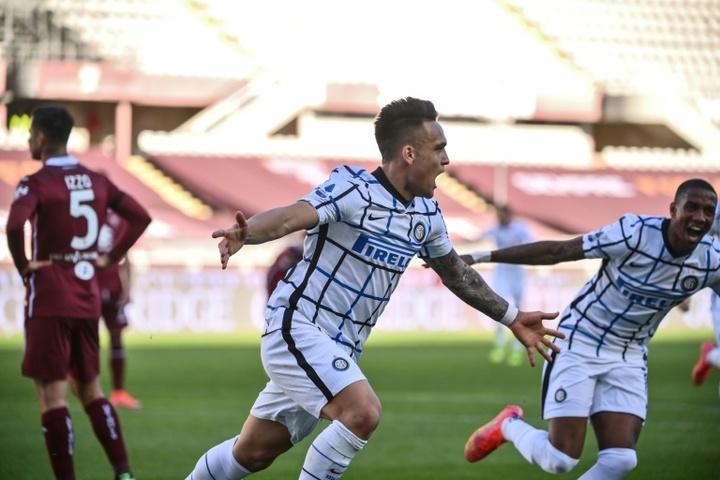 Lautaro renovará con el Inter. AFP
