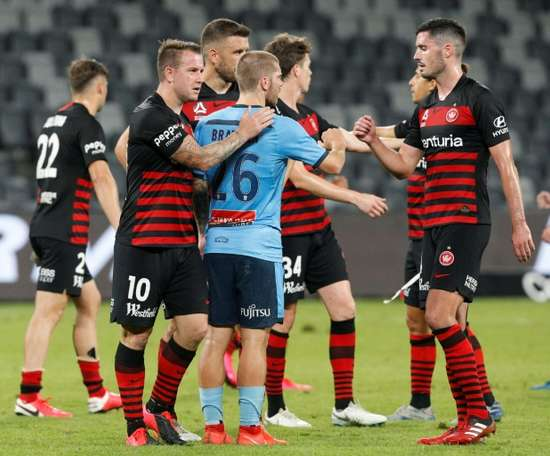 Football's A-League to kick off on July 16 after virus shutdown. AFP