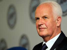 Former Iraq football coach Stange signs up for Syria. AFP