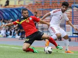 Timor Oriental nacionalizó de forma fraudulenta a varios futbolistas brasileños. AFP/Archivo