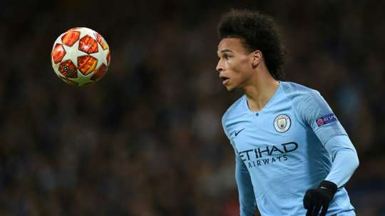 Sane could well move to Bayern this summer. AFP