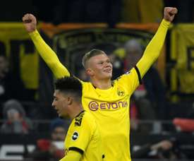 Haaland hits two more off bench as Dortmund rout Cologne. AFP