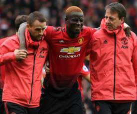 Bailly has extended his contract until 2022. AFP