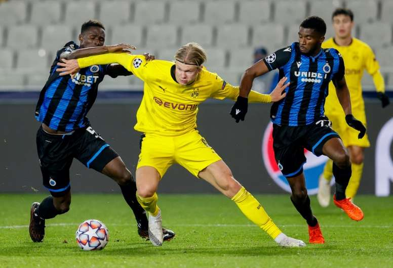 Haaland At The Double As Borussia S Belgians Haunt Their Homeland Besoccer