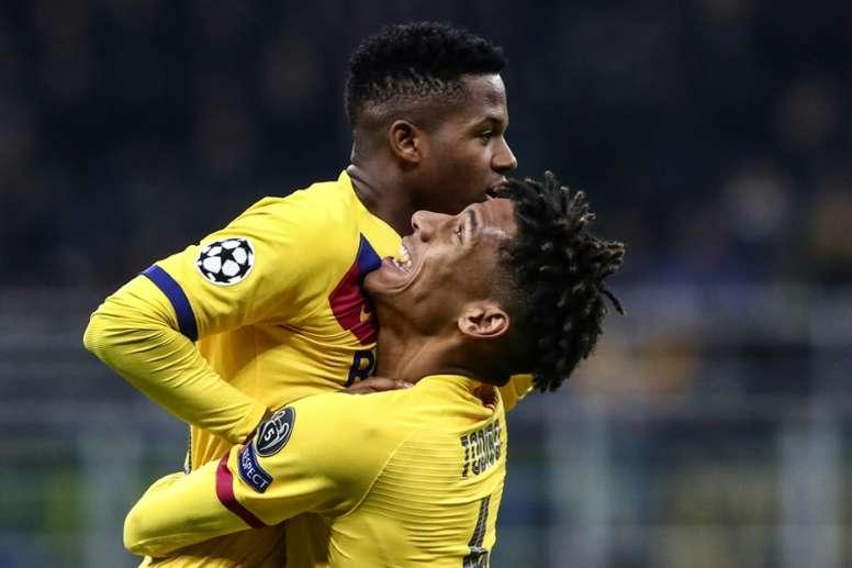 Todibo, déjà de retour au Camp Nou ? AFP