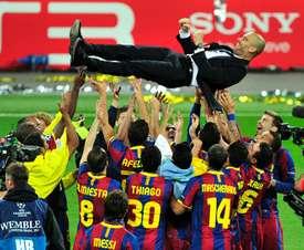 Rooney foi vitima duas vezes daquela Barcelona. AFP