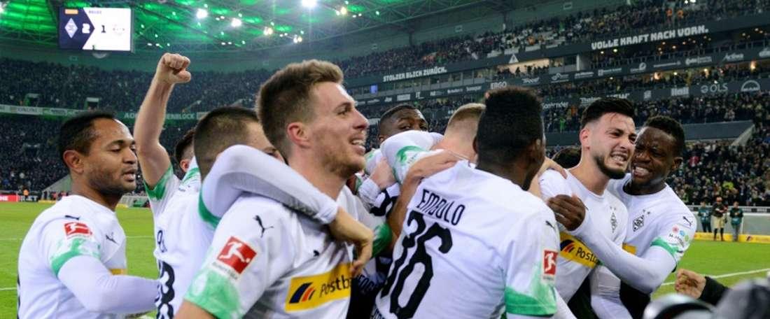 Forgetful Bensebaini sinks Bayern as Gladbach stay top in Germany. AFP