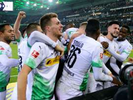 Forgetful Bensebaini sinks Bayern as Gladbach stay top in Germany. AFP