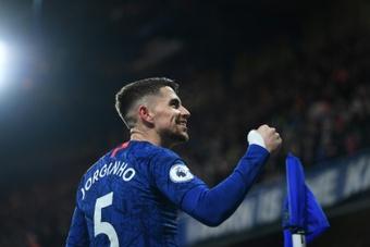 Jorginho, un pilar 'blue'... ¡que pudo acabar en el City! AFP