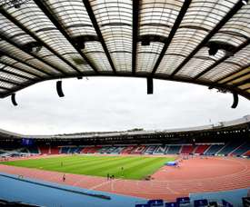 Scottish football has experienced a spate of coin throwing incidents in recent weeks. AFP