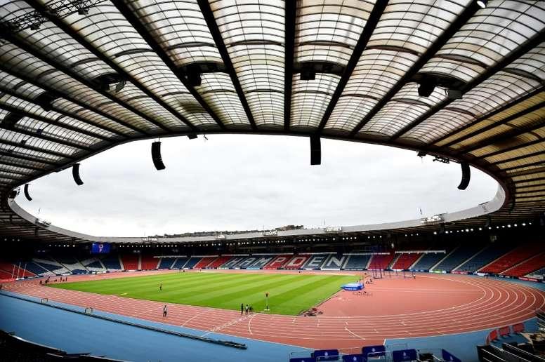 Hampden Park restera l'enceinte de l'Écosse. AFP