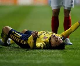 Saison terminée pour Torreira. AFP