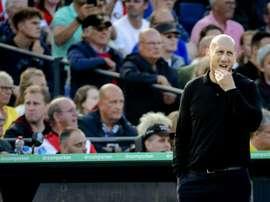 Feyenoord se sépare de Jaap Stam. AFP