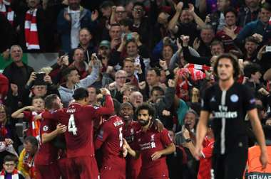 Liverpool got their champions League campaign off to the perfect start. AFP