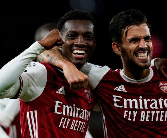 Arsenal won 2-1. AFP