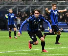 Atalanta won 4-1. AFP