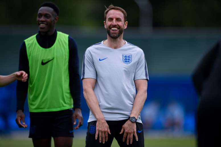 a93653b5272 Pin Southgate is optimistic about the opportunity England have at the World  Cup. AFP