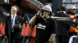 Maradona misses out on first title as coach. AFP