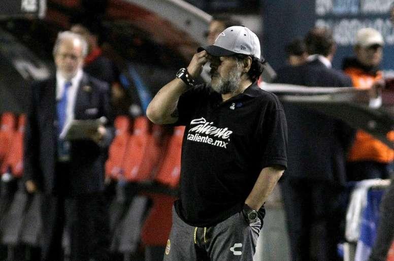 Maradona sconsolato. Goal