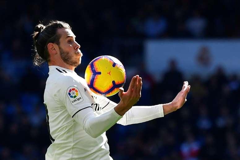 Barnett volvió a hablar del futuro de Bale. AFP