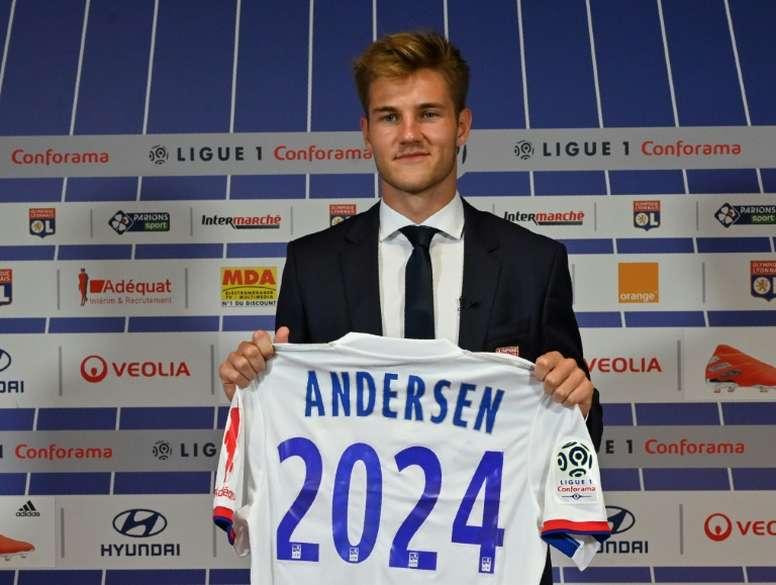 Lyon break transfer record for Danish defender Andersen - BeSoccer