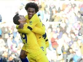 Willian revient sur l'agenda du Barça. AFP