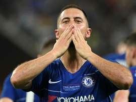 Savage acredita que o Chelsea melhorou sem Hazard. AFP