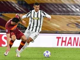 Ronaldo vuole portare a termine il suo contratto. AFP