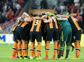 Hull City have been in decline in recent seasons. AFP