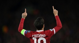 The rise of Coutinho. AFP