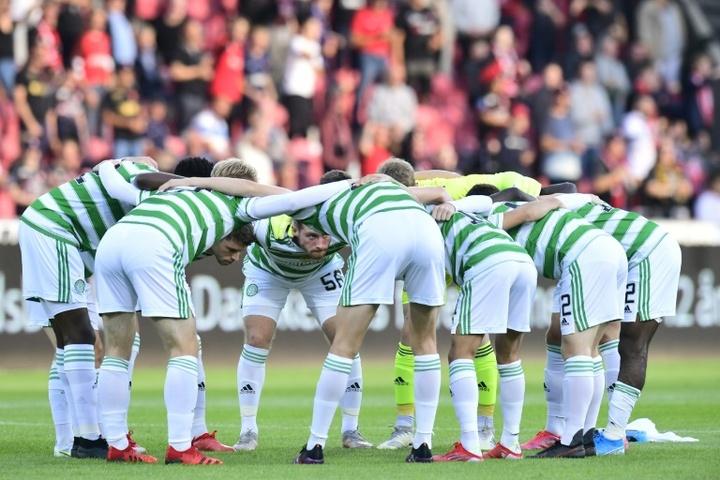 El Celtic salvó los papeles en la Copa de la Liga. AFP/Archivo