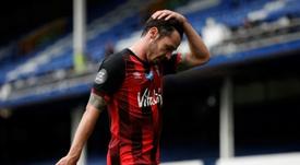 O Bournemouth está rebaixado à Championship. AFP