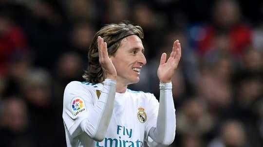 Modric resta al Real Madrid. AFP