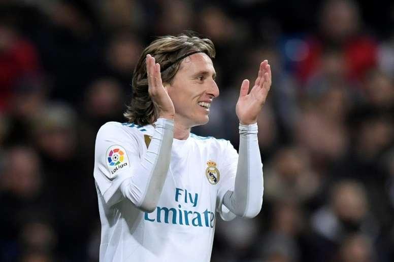 Modric podría estar viviendo sus últimos momentos como jugador blanco. AFP
