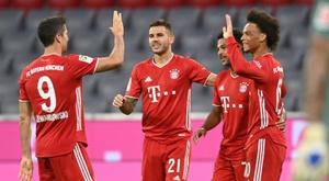 Les compos probables de la Supercoupe d'Europe entre Séville et Bayern. afp
