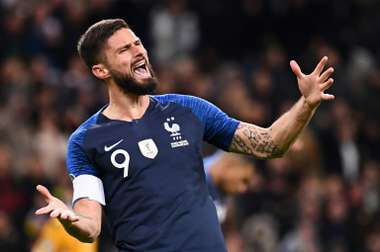 Giroud penalty lifts France past brave Moldova. AFP