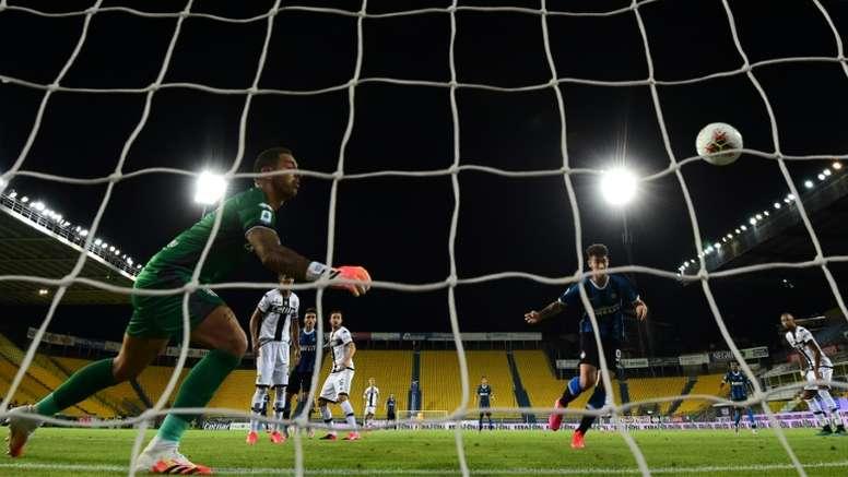 Le formazioni ufficiali di Hellas Verona-Parma. AFP