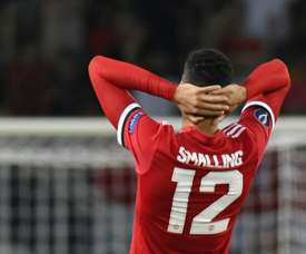 Smalling's own goal summed up United's defensive incapacity. AFP