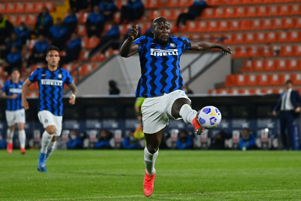 Chelsea are planning to go all out to sign Romelu Lukaku. AFP
