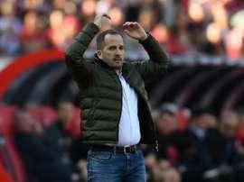 Augsburg have fired Manuel Baum. AFP